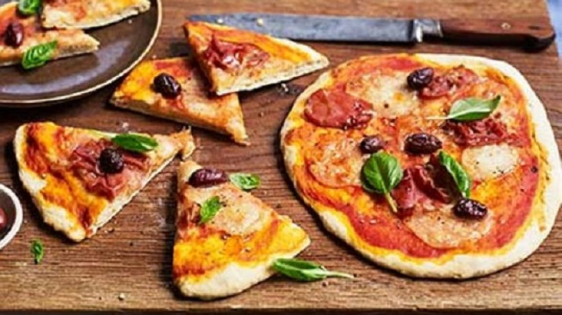 How to make yeast-free pizza