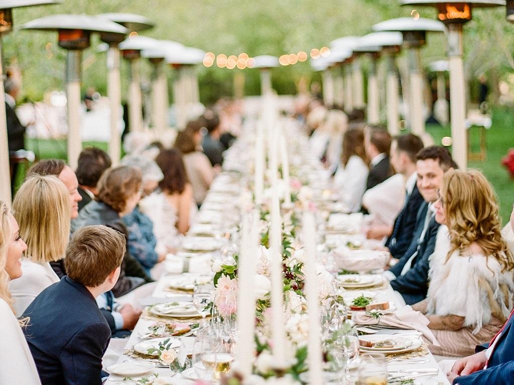 perfect wedding menu